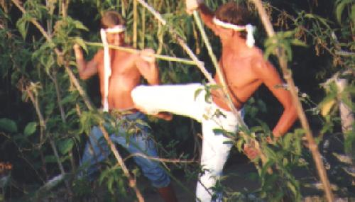 1991 Kungfu in Griechenland